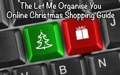 The Let Me Organise You Online Christmas Shopping Guide