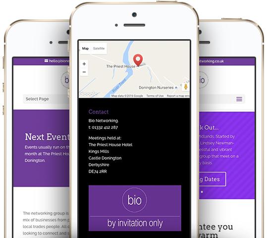 Bio website case study iPhones WEB