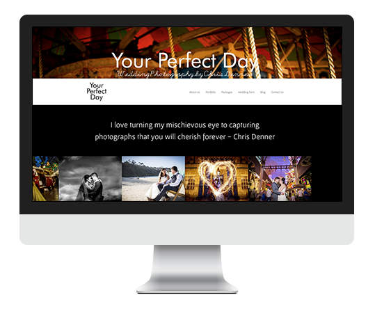 Website Design Example from Let Me Organise You