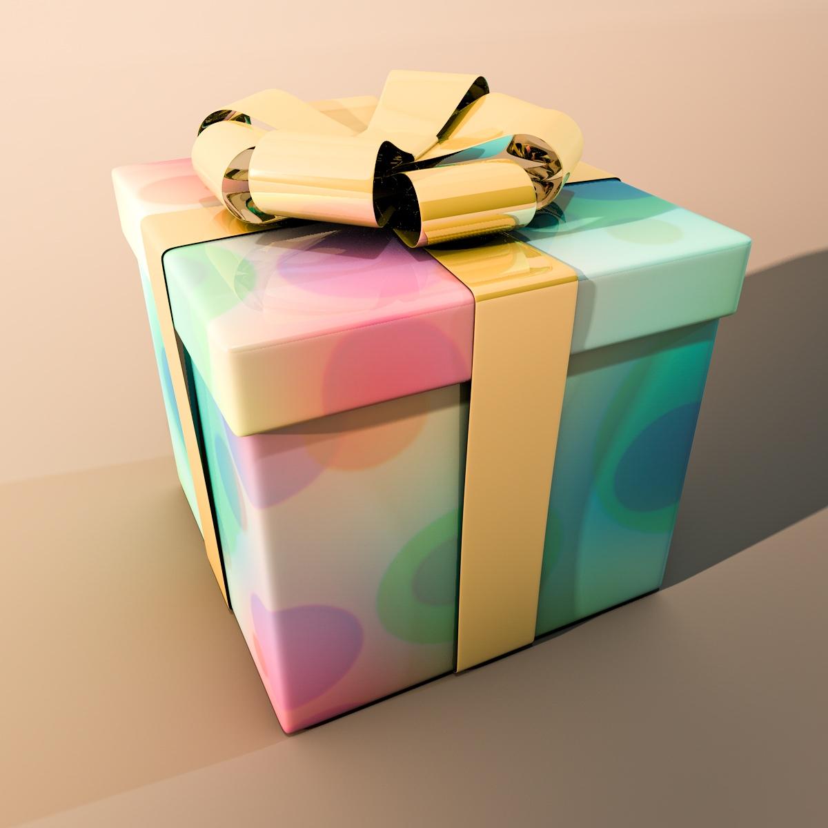 gift box closed box square