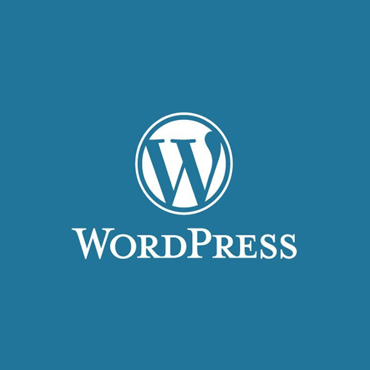 wordpress website logo square