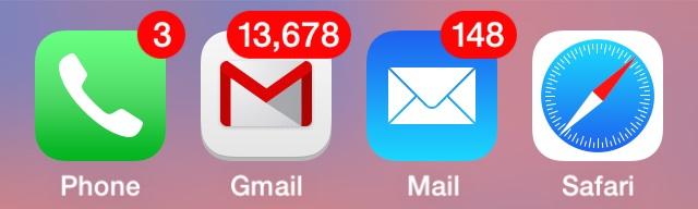 large inbox iphone