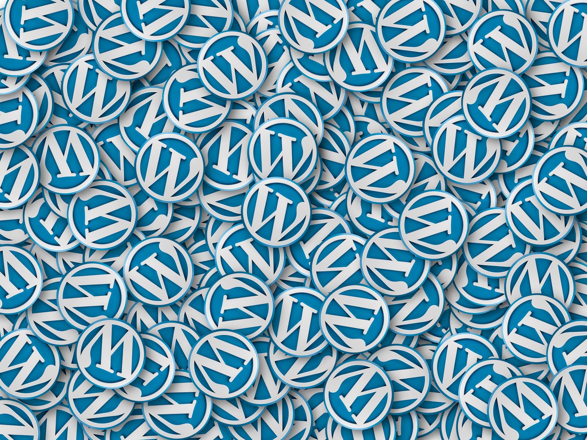 wordpress wallpaper badges