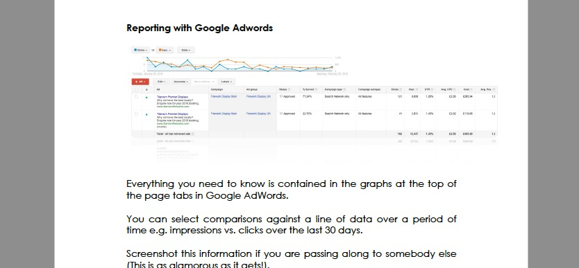 Google Adwords eBook from Let Me Organise You