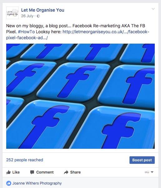 Facebook Social Media Post