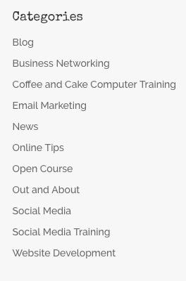 Categories in Blog posts