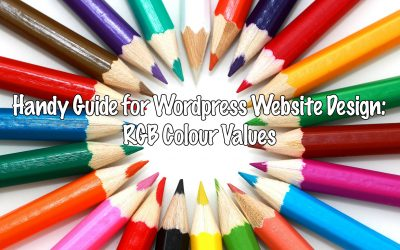 Handy Guide for WordPress Website Design: RGB Colour Values