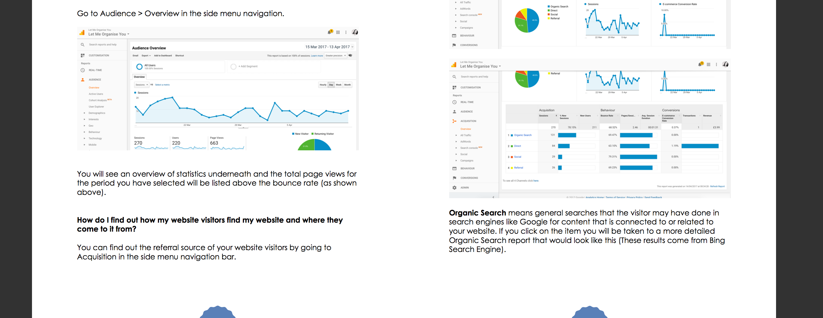 Google Analytics eBook Content Gallery