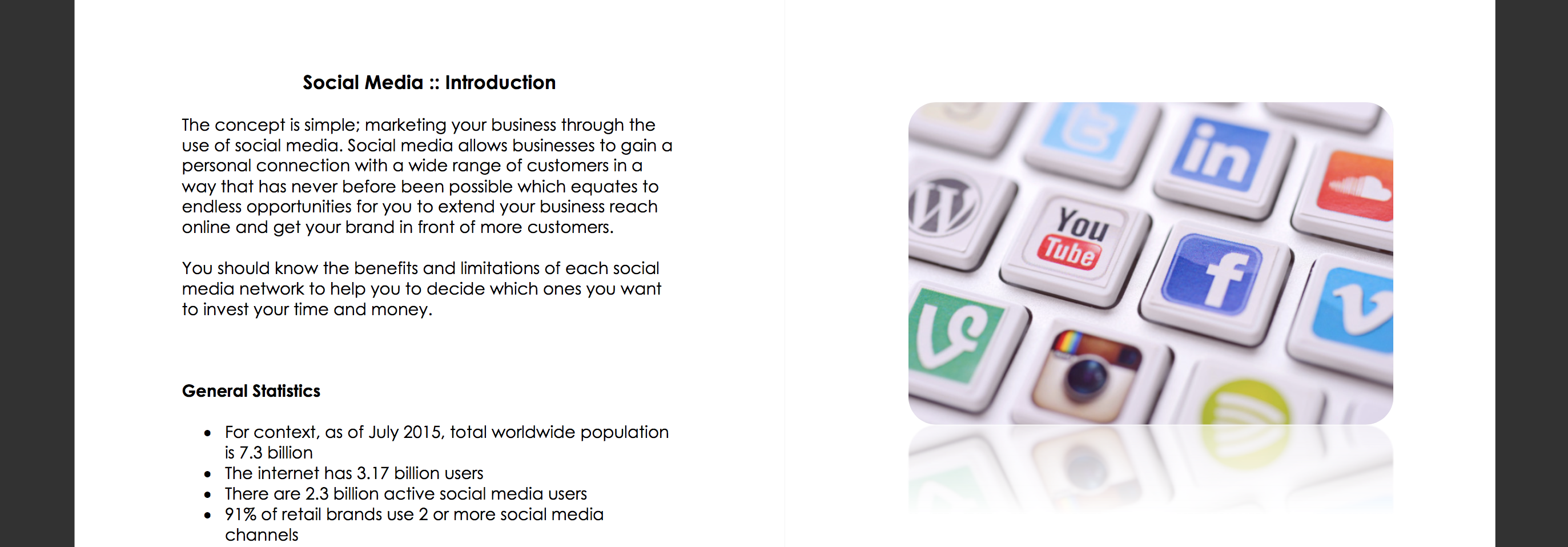 Social Media Essentials Gallery 1