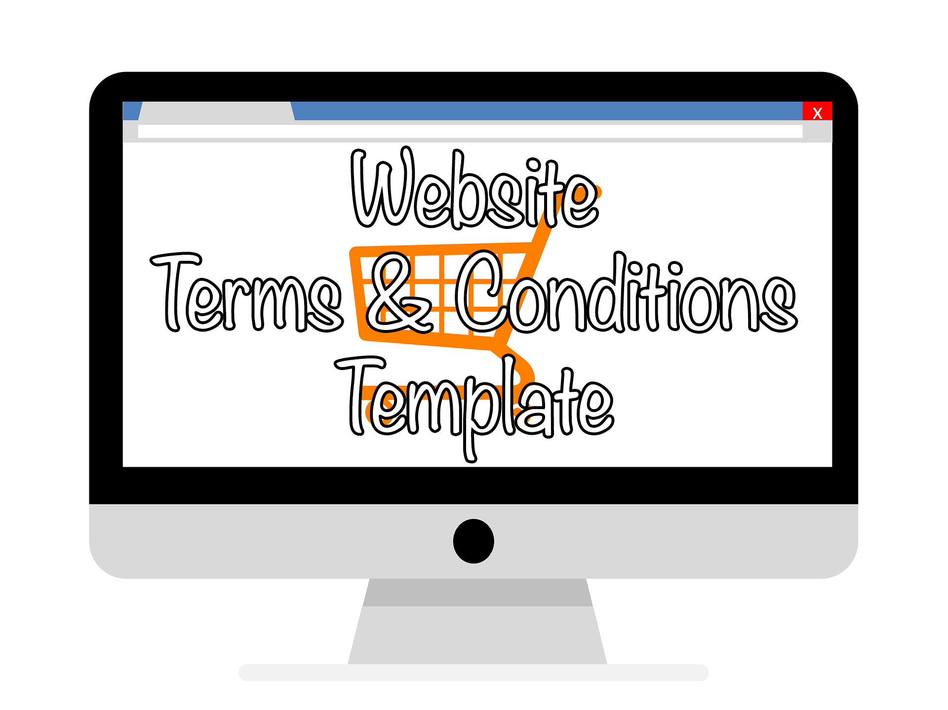 Website terms conditions template let me organise you for Terms and conditions template ecommerce