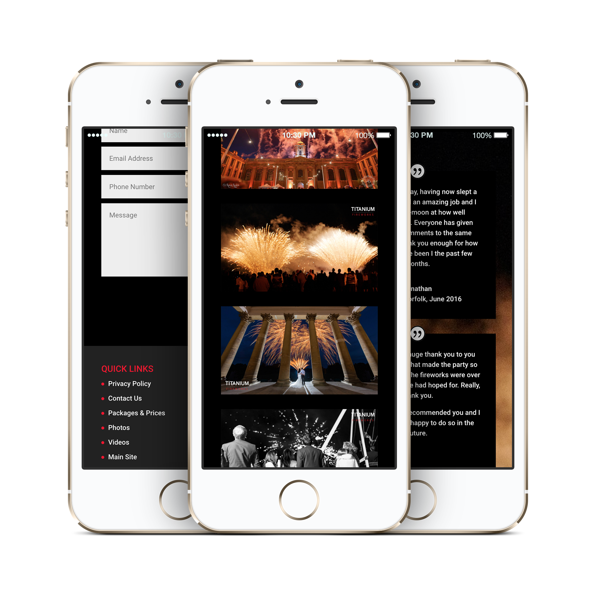 Web Design for iPhone