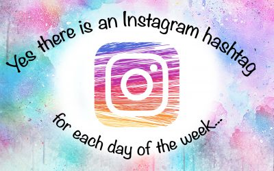 Yes there is an Instagram hashtag for each day of the week…