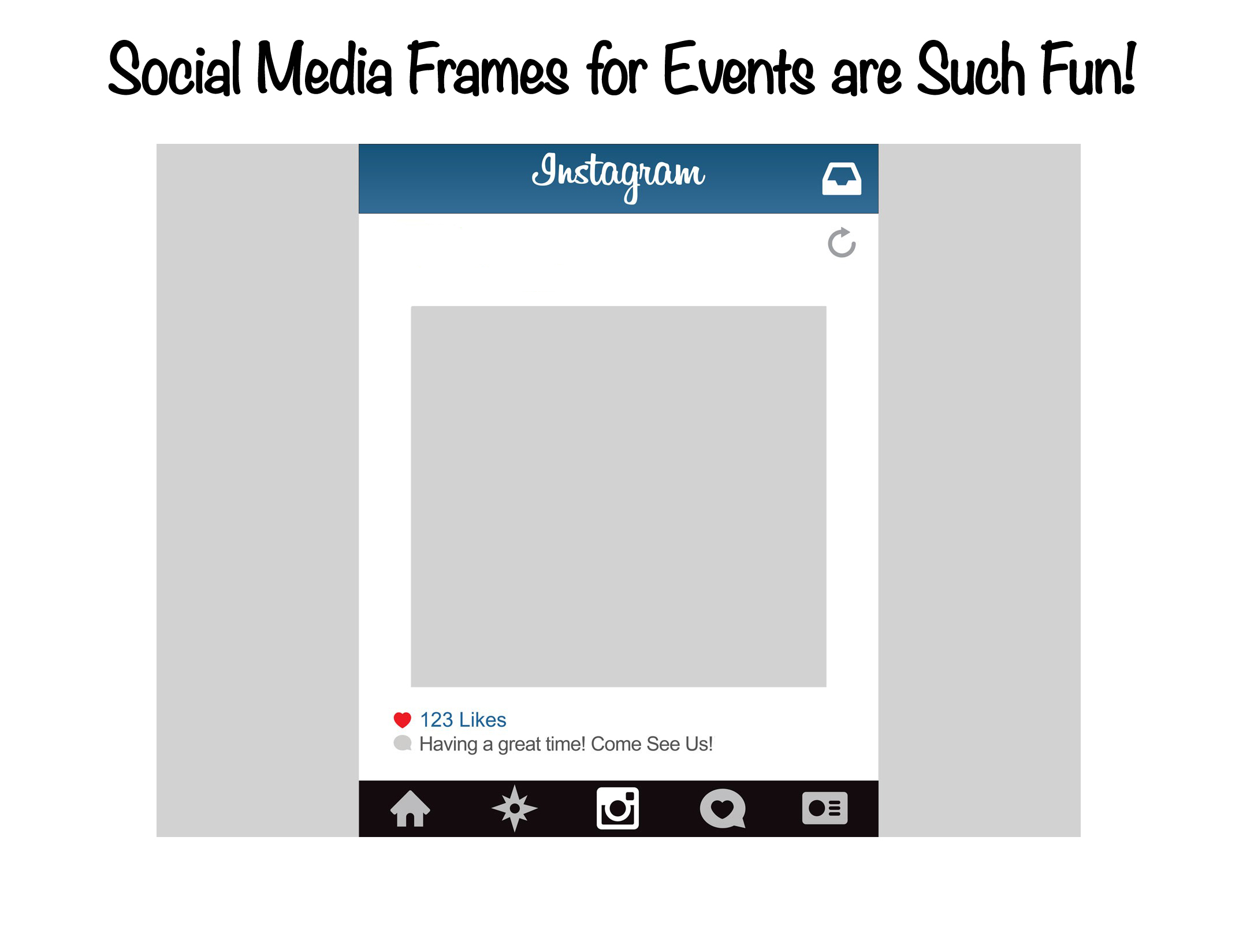 Social Media Frames for Events are Such Fun! - Let Me Organise You