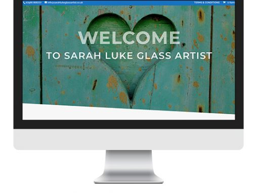 Sarah Luke Glass Artist