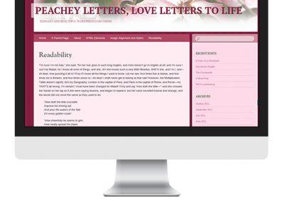 Peachey Letters Blog