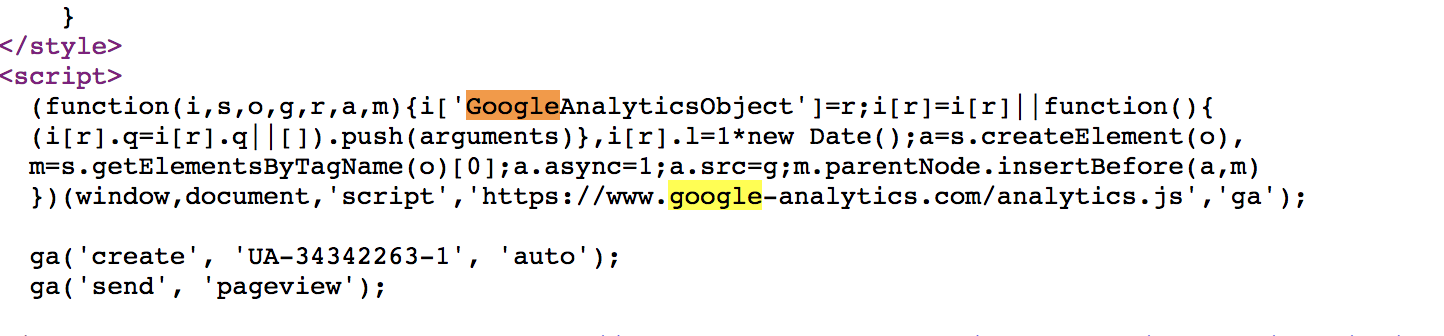 Google Analytics on your Website