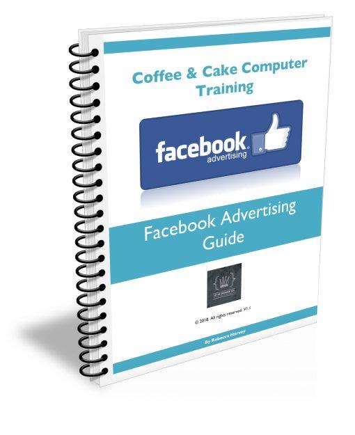 Facebook Advertising Guide 3D Book Spiral